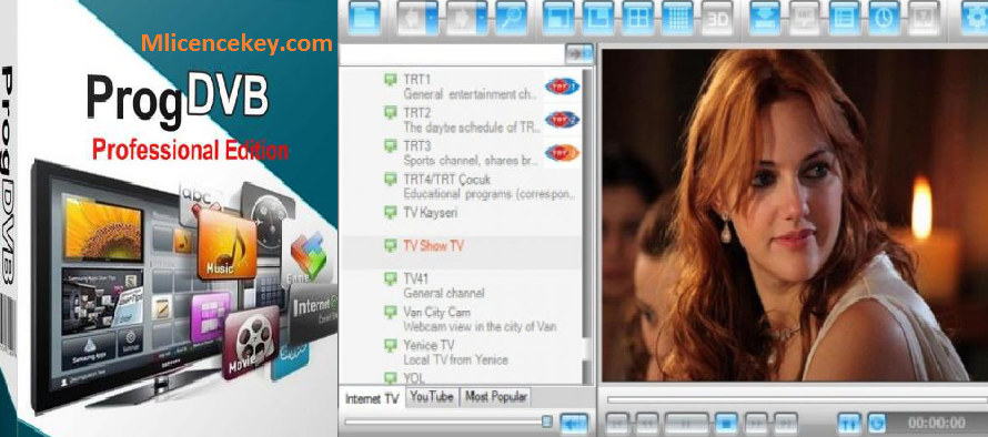 ProgDVB Pro 7.39.4 Crack Activation Key, Torrent Keygen