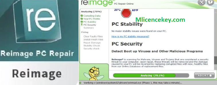 Reimage PC Repair 2020 Crack With License Key Latest Version Download