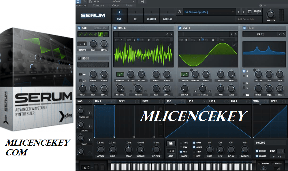 Xfer Serum Crack With License Key, Serial Key & Keygen