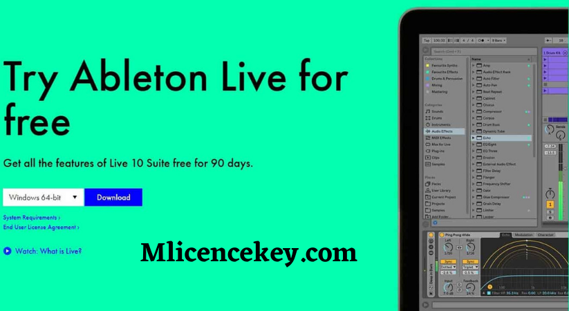 Ableton Live 9 Suite Crack Keygen License Key Torrent Download